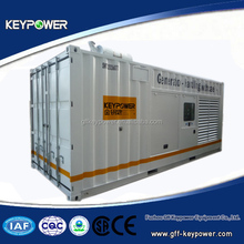 Powered by Mitsubishi, container type, 50/60hz 820kva, silent type, open type, high quality, good price, ce certified, on sale