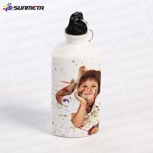 Sunmeta factory supply blank 500ml triangle shape sublimation aluminum sports bottle(LH-05)