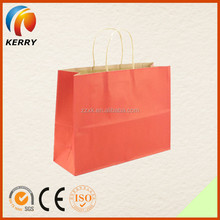 2015 Top Sale New Luxury Craft Shopping Paper Bag With Handles