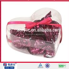 Atacado acrílico caixa distribuidora de doces design para o casamento com alta qualidade