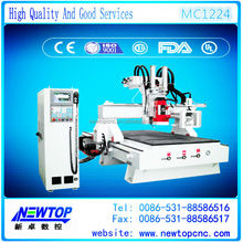 MC1224HIWIN linear square guide rail ball screw transmission 3 axes 1224 engraver wood art work milling cnc router