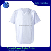Wholesale t shirts cheap t shirts in bulk plain v-neck men shirt