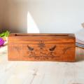 zakka de madera caja de almacenamiento en el hogar creativo manualidades caseras de arte mentes artesanías de madera