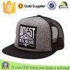 Wholesale Custom Embroidery Patch Logo 6 Panel Mesh Snapback Cap