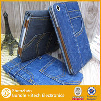 2013 New for apple ipad mini jeans case,for ipad case,alibaba china