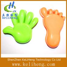 Moldagem de plástico molde protótipo mãos e pés