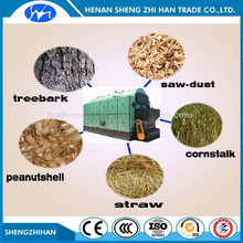 High efficiency low press biomass pellet steam boiler wood pellet stove