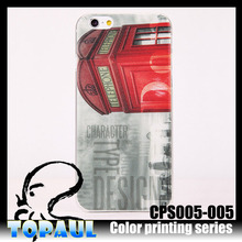 Slim fit mobile phone case tpu pc housing case for iphone 6 plus