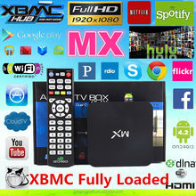 2015 Best media player android 4.2 xbmc dragonworth amlogic AML8726 dual core Android Tv Box MX mx2