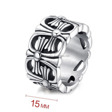 Wholesale 316L Stainless Steel Ring Titanium Men's Ring jewelry
