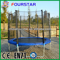 Fitness Equipment Gymnastic Trampoline with Heavy Strong Fabric costco