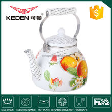 Mini Cute Enamel Camping Tea Kettle