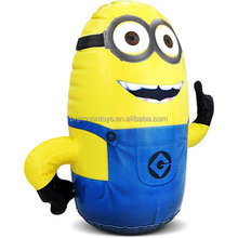 2015 hot big advertising inflatable minion cartoon