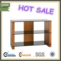 Recycled wood furniture bedroom suitcase folding tv stand DG008