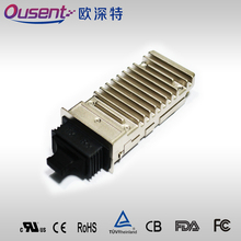 X2 fiber optical transceiver, 10GBase-ZR, 1550nm, SMF, 80km long wavelength and long distance, with DDM