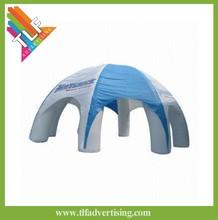 Custom imprint inflatable gazebo tent