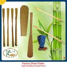 Factory direct sales,custom bamboo shoe horn ,long handled shoe lifter