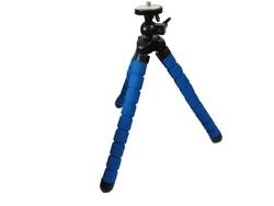 "Flexible 11"" blue sponge camera gorillapod tripod"