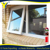 Aluminium windows & doors / awning window for bathroom/double hung window/AS2047,NZS,AS1208