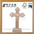 la fábrica de china lindo religiosa cristiana en miniatura cruces de madera