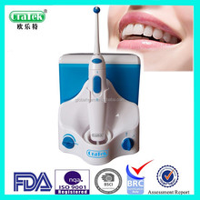 Easy to clean vary oral care needs portable dental irrigator