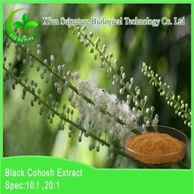 Black Cohosh 2.5%-5% Herb Extract with Triterpenoid Saponins CAS 84776-26-1