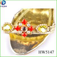 HW5147 shoe ornaments renqing shoes accessories for women shoe