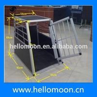 New Design Safety Folding Aluminum Dog Car Cage