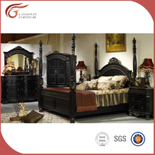 quality classical wooden furniture italy bedroom sets black