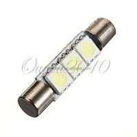Big Promotion White 31mm 3 SMD 5050 LED Car Auto C5W Interior Dome Festoon Vanity Mirror Sun Visor Lights Bulb Lamp DC12V