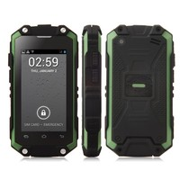 J5 Smartphone IP54 Tri-proof MTK6572W Dual Core Android 4.2 3G 2.4 Inch Green