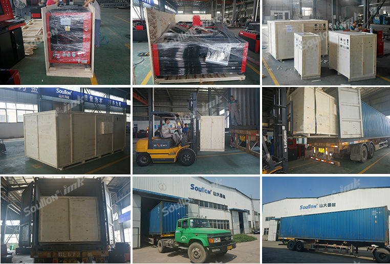 Laser Cutting Equipment packing and shipping