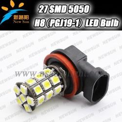 27-SMD 5050 H8 H9 H11 LED Bulb Lights For Auto 24 Volt For BMW E36 E60 E90