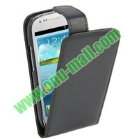 New Design Vertical Flip Leather Case for Samsung Galaxy S3 Mini i8190
