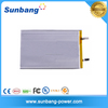 SunB9059157 rechargeable lipo battery cell 3.7v 10000mAh lithium 3.7v battery with cheap price