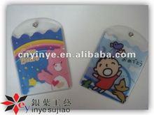 Cheap Super Cute Cartoon Photo PVC Card Bag /Card Holder for Kids