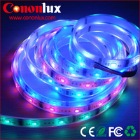Waterproof RGB flexible led strip light waterproof SMD 5050 IP20 IP65 magical addressable led strip lighting with CE ROHS