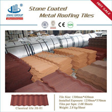 Warranty 30years quality colorful stone coated metal roofing sheet / deco roof tile