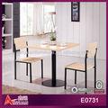 2013 de moda E0731 antigua francés café mesa y sillas