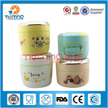 PP lunch box keep food hot /plastic and steel food container /food packaging lunch box