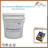 Deep curing epoxy encapsulation glue for circuit board