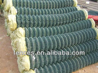 galvanize and pvc coated single spiral chain link mesh mchine