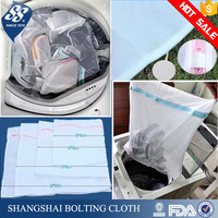 premium quality mesh laundry wash bag with zipper for lingerie, sweater, bras
