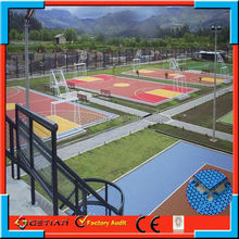 suspended modular surface basketballer professional