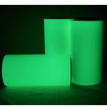 luminescent vinyl rolls glow in the dark self-adhesive vinyl