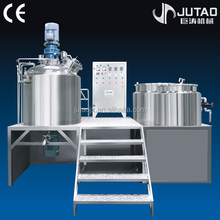 Chinese famous brand fix-type vacuum homogenizing emulsifier for cosmetic