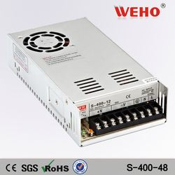 ISO9001 CE Rohs approved cctv 48v switching power supply