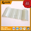 Best-seller toughness durable fire-retardent translucent PVC roof tile for fruit garden