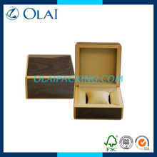 up-market fashion single wooden watch case for sale