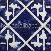 Blue and white hand painted tile, wall decoration ceramic tiles